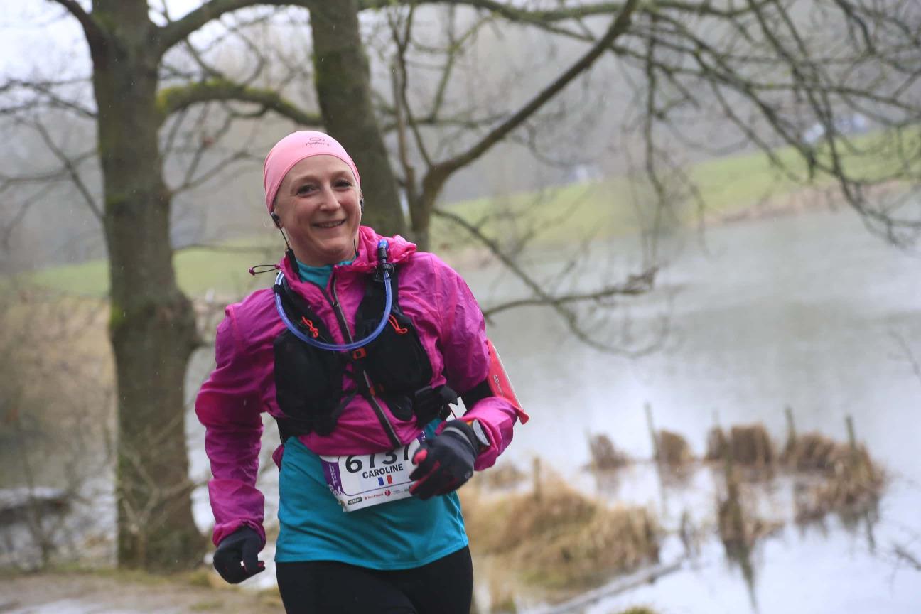 ecotrail running 30km bois Caroline Drouart