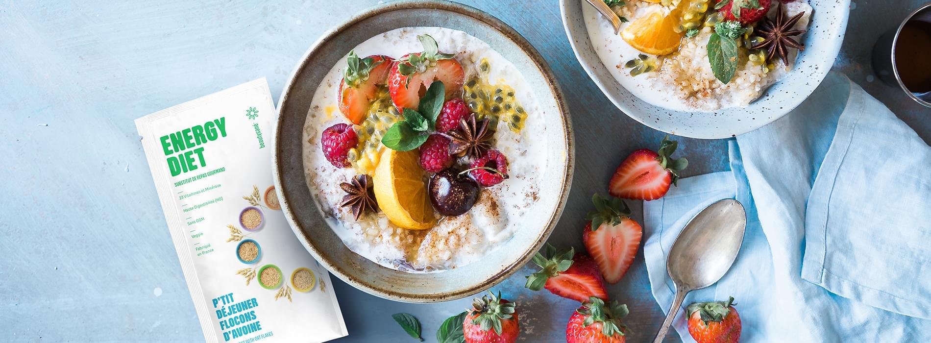 petit déjeuner avec le programme energy diet