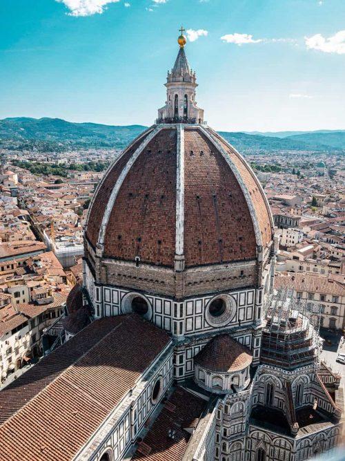 Cathédrale de Santa Maria del Fiore, Florence, architecte Brunelleschi