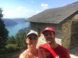 lac de côme, paysage sur les hauteurs de Moltrasio