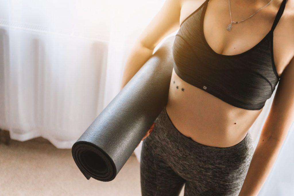 tapis pour sophrologie et yoga
