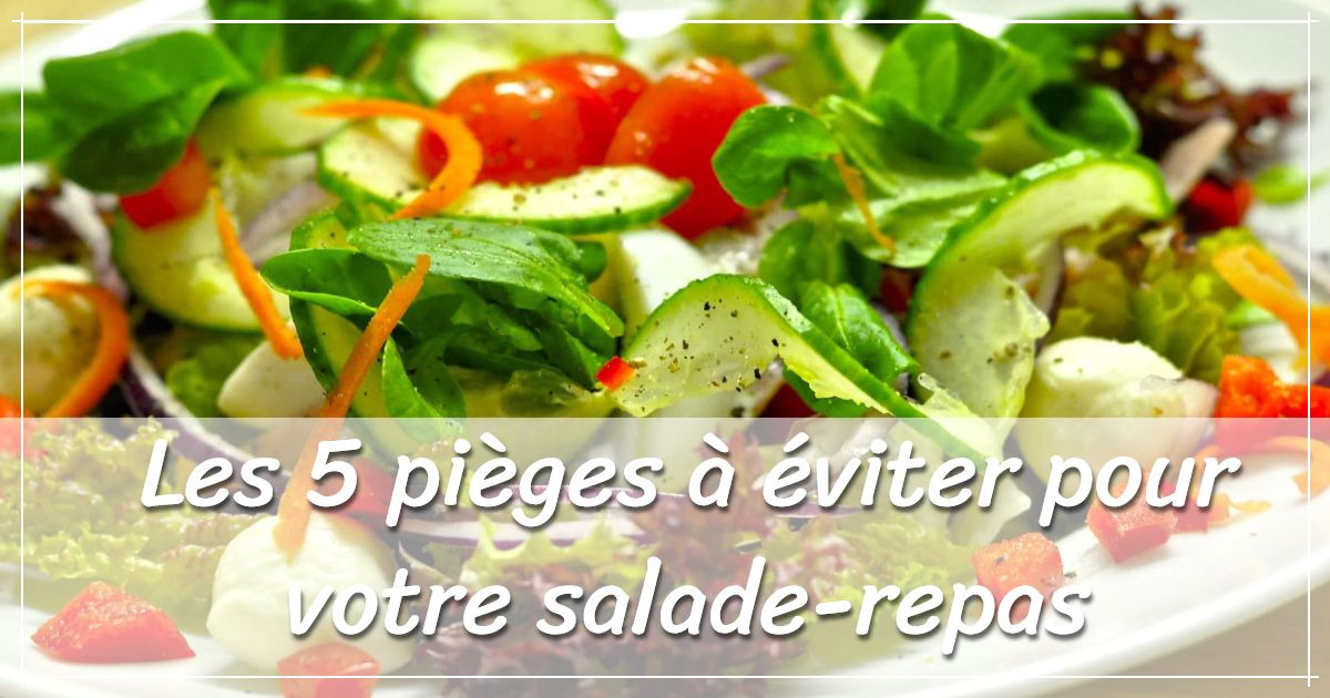 visuel assiette salade repas
