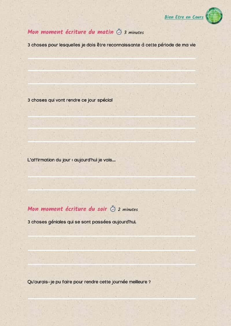 fichier à télécharger : méthode pour écrire un journal