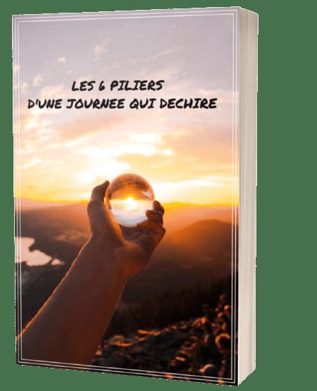 livre les 6 piliers d'une journée qui déchire