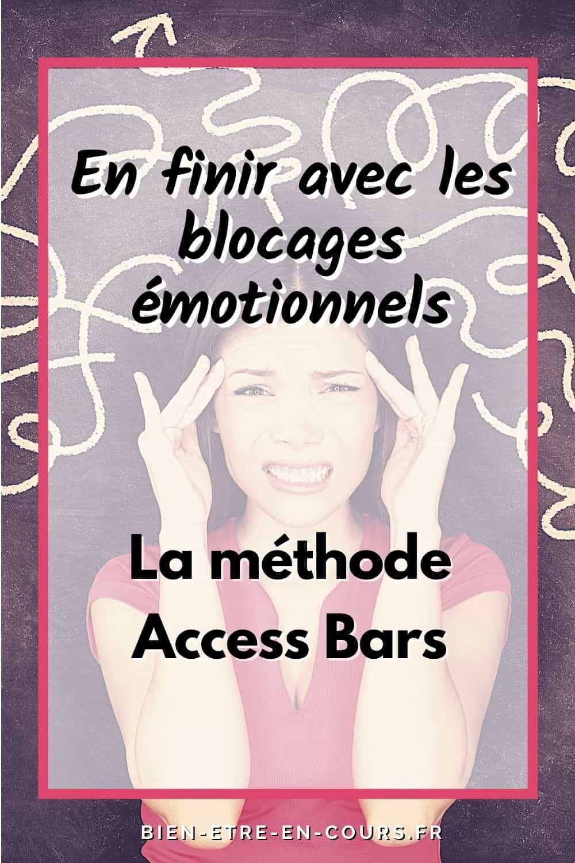 visuel access bars en finir avec les blocages émotionnels