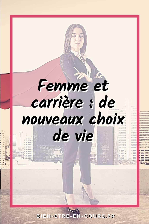 femme et carrière : visuel pinterest